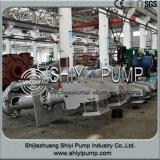 Pompe de carter de vidange verticale de traitement des eaux centrifuge résistant à l'usure d'eaux d'égout