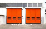 フリーザー部屋PVCファブリック高速速く急速なローラーシャッタードア