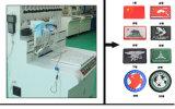 Máquina de goteo completamente automática vendedora caliente de la insignia del PVC 3D
