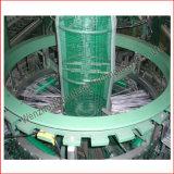 Engranzamento plástico manufatura circular tecida do tear da máquina do saco