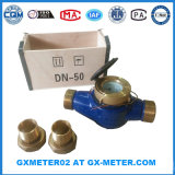 Dn50 (2 duim '') de Schakelaar van de Meter van het Water van het Messing voor de Meter van het Water van het Messing