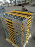 Hot-DIP Galvanized Steel Bar Grating Stair Treads with Nonslip Nosings