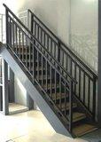 Balcon de clôture en verre en aluminium de couleur en bronze pour votre maison