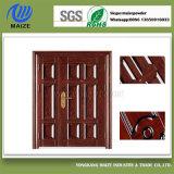 完全な機密保護のドアの木製の効果の粉のコーティング