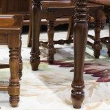 A tabela a mais atrasada da sala de jantar da madeira contínua de projeto simples para o uso Home com boa qualidade As837