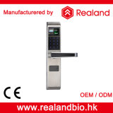 Bloqueo de puerta europeo de combinación de la huella digital del acero inoxidable de Realand F1