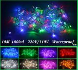 Warm White Christmas Light Decoração 10m100LEDs LED String Light