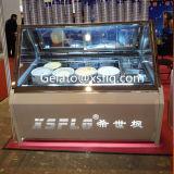 Vetrina diretta del gelato della fabbrica