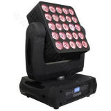 25X30W scène DJ LED Matrice Moving Head Light