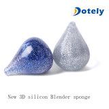El mejor silicón de mezcla del soplo del maquillaje 3D de la esponja