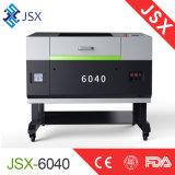 Desktop малый автомат для резки гравировки лазера СО2 неметалла размера Jsx-6040