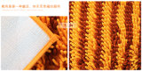 Rutschfeste doppelte Farben-Chenille-Badezimmer-Matte