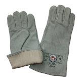 Кожаный промышленные перчатки безопасности заварки