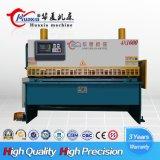 Machine de découpage hydraulique de massicot