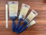 Пластичная щетка краски ручки с чисто материалом щетинки