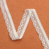 Оптовый шнурок вышивки способа, белое уравновешивание шнурка ресницы