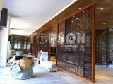 장식적인 스테인리스 금속 접히는 스크린 룸 분배자 칸막이벽