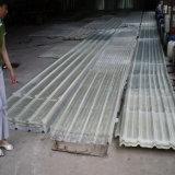 Strato ondulato del lucernario del tetto della plastica di rinforzo vetroresina di FRP