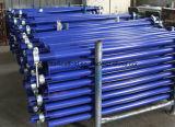 Apoyos de acero ajustables del apuntalamiento del encofrado del tubo del andamio