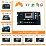 12/24V 20A LED Solarladung-Controller der Digitalanzeigen-PWM