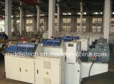 A linha eletricidade da extrusão da tubulação do PVC conduz a linha de produção
