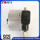 Tous les manomètres électriques de contact de photoélectricité d'acier inoxydable
