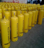 cilindri dell'acetilene dissolto di colore giallo 40L