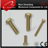 DIN933 DIN931 Asme Brass Hexagon Bolt met ISO Certificate