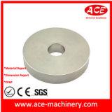 Fazer à máquina do CNC da tampa superior de alumínio personalizada da câmara de ar