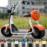 800W Harleyの脂肪質のタイヤ山の電気スクーター