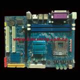 945-775 scheda madre con la lan Port+2SATA+IDE di 2PCI+Pcie16+2*Ddrii+VGA+100m