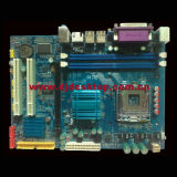 945-775 2PCI+Pcie16+2*Ddrii+VGA+100m LAN Port+2SATA+IDEのマザーボード