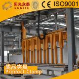 AAC Block, der Maschinerie-herstellt/Autoklav zu pflanzen mit Kohlensäure durchgesetzter Betonstein bildet Produktionszweig
