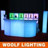 Venda comercial usada da barra/contador iluminado da barra do diodo emissor de luz