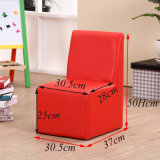 2016 New Design- Kids Stool PVC Leather Children Furniture