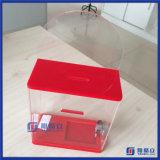 Mittlerer Acrylabgabe-Stimmzettel-Karten-Abstimmung-Vorschlags-Kasten