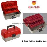 Ao ar livre & interno Using a caixa de equipamento da pesca de 3 bandejas