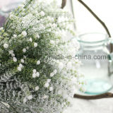 高品質の雪(SF15696)が付いている装飾的なプラスチックGypsophilaの人工花