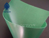Encerado revestido del PVC de la raya de la alta calidad para la piscina