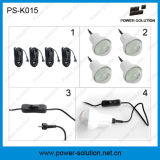 4 PCS 2W LED Bulbs를 가진 태양 Panel Bulb System