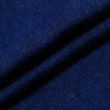 Tela elevada da sarja de Nimes do Spandex do algodão da elasticidade para calças de brim