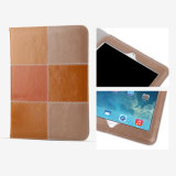 Coperchio britannico di vibrazione del cuoio di colori del doppio di stile per iPad PRO