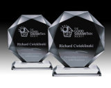 2016 Nuevo Diseño Crystal Award Trophy