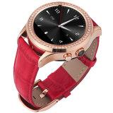 O relógio o mais atrasado da mão de 2016 meninas novas elegantes da forma do projeto de Heartrate, telefones móveis do relógio das mulheres bonitas