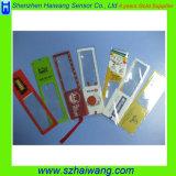 Hw801 140*38mm Förderung Belüftung-Bookmark-Anzeigen-Vergrößerungsglas-Tabellierprogramm-Vergrößerungsglas, kundenspezifisches Firmenzeichen