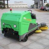 솔 자동적인 지면 청소 기계 공중 소탕은 이중으로 한다 (DQS18)