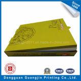 Напечатанная зеленым цветом коробка пиццы бумаги Kraft Corrugated