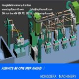 コンゴMaize Flour Mill Machine (20tpd)