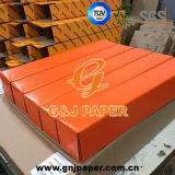 Papel translúcido revestido excelente da qualidade 60GSM na embalagem da caixa
