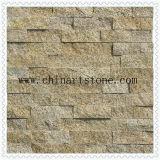 Rivestimento arrugginito della parete di pietra della coltura del granito per la decorazione domestica